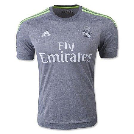 Camisa oficial Adidas Real Madrid 2015 2016 II jogador