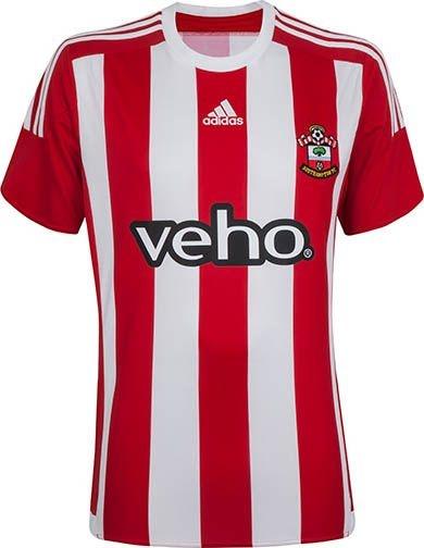 Camisa oficial Adidas Southampton 2015 2016 I jogador