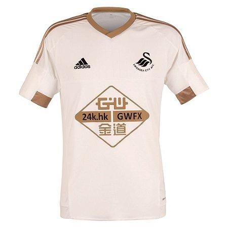 Camisa oficial Adidas Swansea City 2015 2016 I jogador