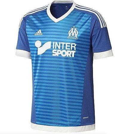 Camisa oficial Adidas Olympique de Marseille 2015 2016 III jogador