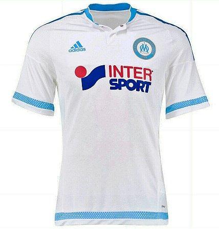 Camisa oficial adidas Olympique de Marseille 2015 2016 I jogador
