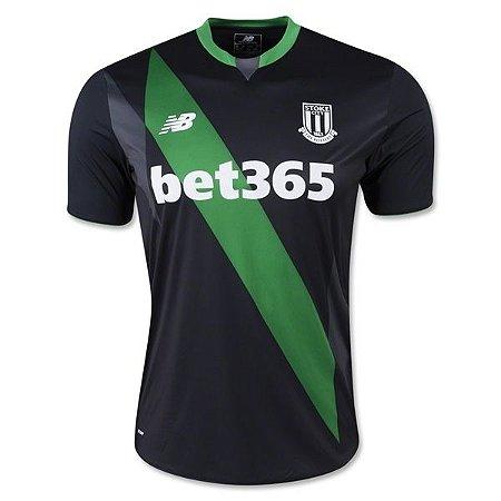 Camisa oficial New Balance Stoke City 2015 2016 II jogador