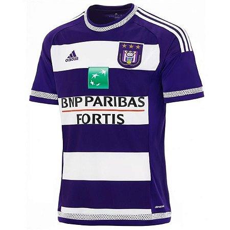Camisa oficial Adidas Anderlecht 2015 2016 I jogador