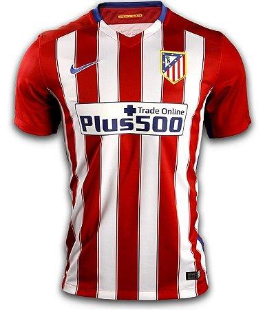 Camisa oficial Nike Atletico de Madrid 2015 2016 I jogador