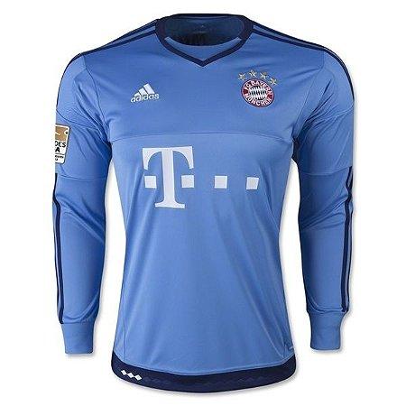 Camisa oficial Adidas Bayern de Munique 2015 2016 I Goleiro
