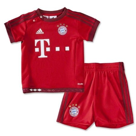 Kit infantil oficial Adidas Bayern de Munique 2015 2016 I jogador