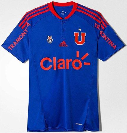 Camisa oficial Adidas Universidad de Chile 2015 2016 I jogador