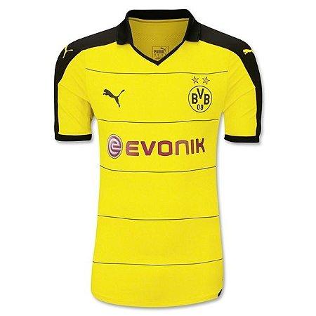 Camisa oficial Puma Borussia Dortmund 2015 2016 I jogador