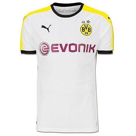 Camisa oficial Puma Borussia Dortmund 2015 2016 II jogador