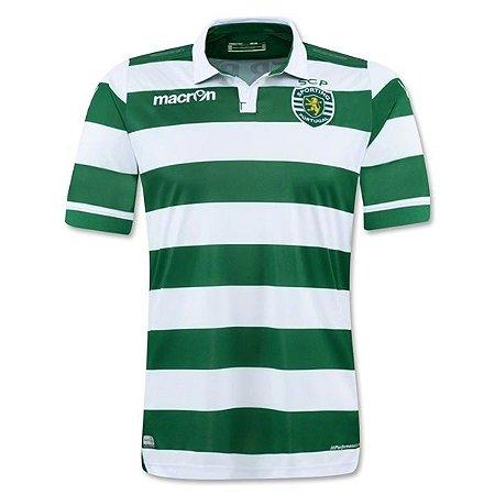 Camisa oficial Macron Sporting Lisboa 2015 2016 I jogador