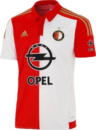 Camisa oficial Adidas Feyenoord 2015 2016 I jogador