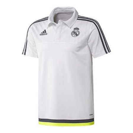 Camisa oficial Adidas Polo Real Madrid 2015 2016