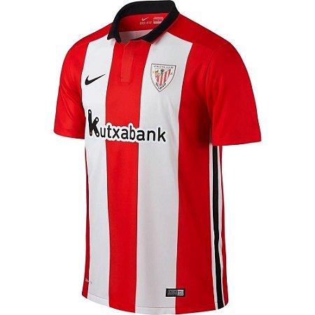 Camisa oficial Nike Atlético de Bilbao 2015 2016 I jogador