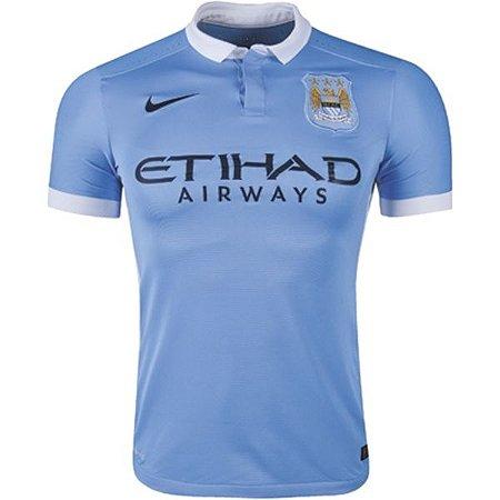 Camisa oficial Nike Manchester City 2015 2016 I jogador