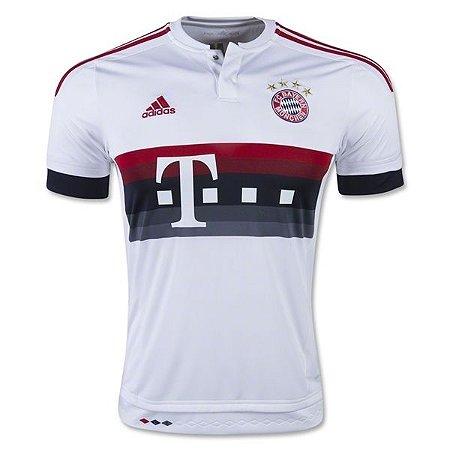 Camisa oficial Adidas Bayern de Munique 2015 2016 II jogador