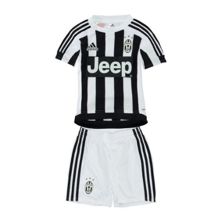 Kit infantil oficial Adidas Juventus 2015 2016 I jogador