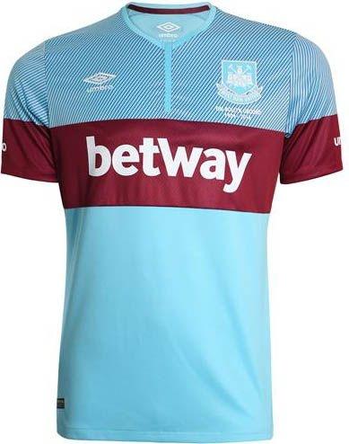 Camisa oficial Umbro West Ham 2015 2016 II Jogador