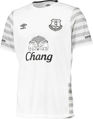 Camisa oficial Umbro Everton 2015 2016 II jogador
