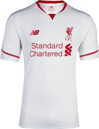 Camisa oficial New Balance Liverpool 2015 2016 II jogador