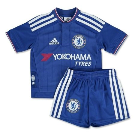 Kit infantil oficial adidas Chelsea 2015 2016 I jogador