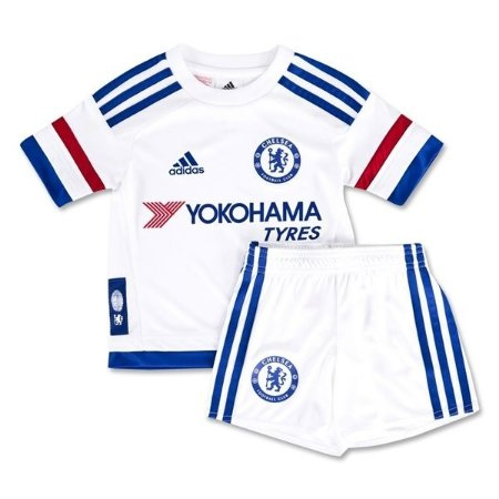 Kit infantil oficial adidas Chelsea 2015 2016 II jogador