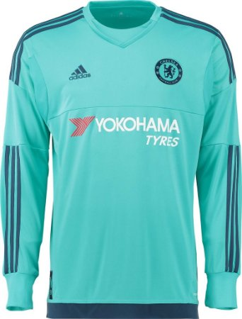 Camisa oficial Adidas Chelsea 2015 2016 goleiro