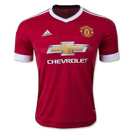 Camisa oficial Adidas Manchester United 2015 2016 I jogador