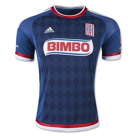 Camisa oficial Adidas Chivas Guadalajara 2015 2016 II jogador