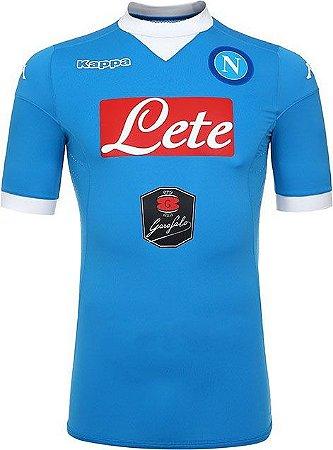 Camisa oficial Kappa Napoli 2015 2016 I jogador