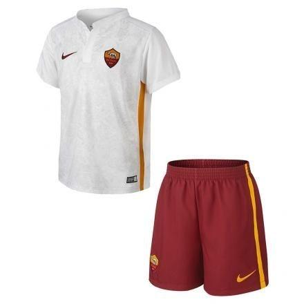 Kit oficial infantil Nike Roma 2015 2016 II jogador