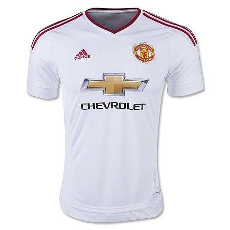 Camisa oficial Adidas Manchester United 2015 2016 II jogador