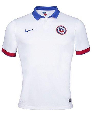 Camisa oficial Nike seleção do Chile 2015 2016 II jogador
