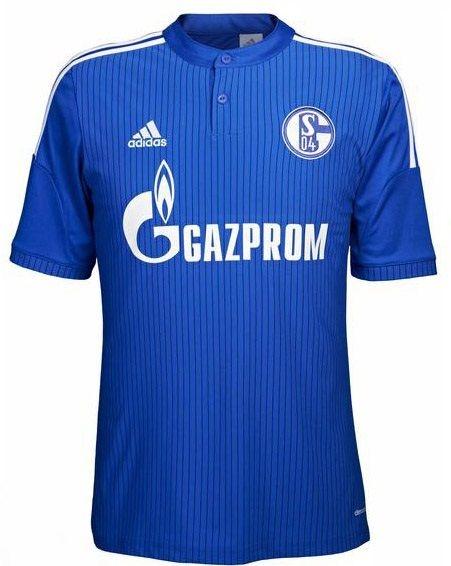Camisa oficial Adidas Schalke 04 2015 2016 I jogador
