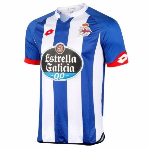 Camisa oficial Lotto Deportivo La Coruña 2015 2016 I jogador