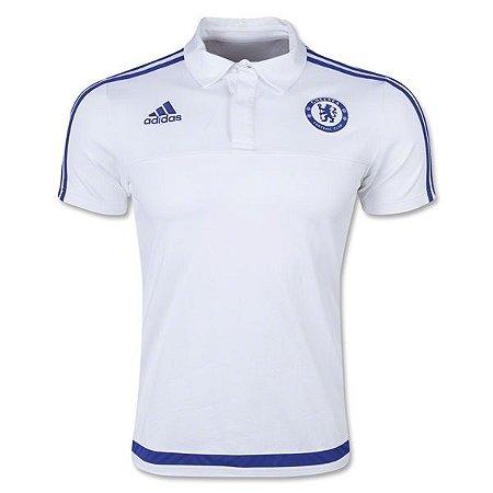 Camisa polo oficial Adidas Chelsea 2015 2016
