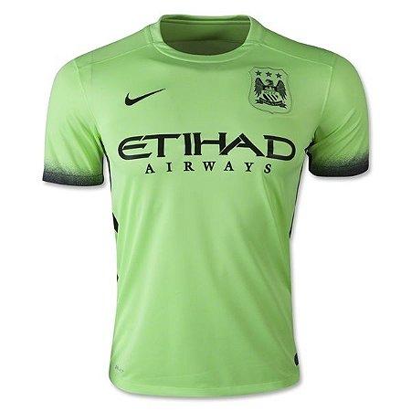 Camisa oficial Nike Manchester City 2015 2016 III jogador