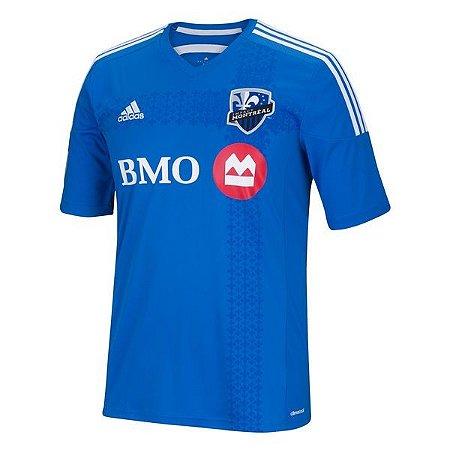 Camisa oficial Adidas Montreal Impact 2015 2016  I jogador