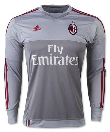 Camisa oficial Adidas Milan 2015 2016 I Goleiro