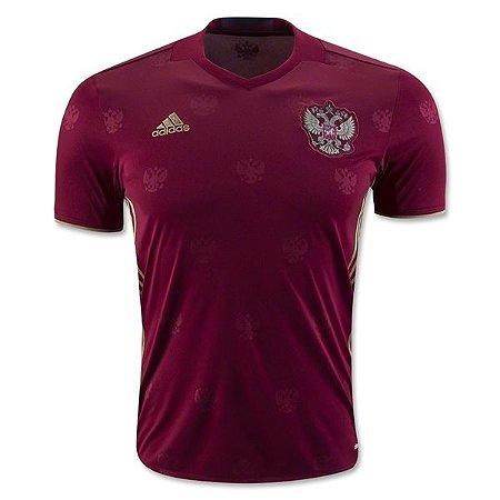 Camisa oficial adidas seleção da Rússia Euro 2016 I jogador