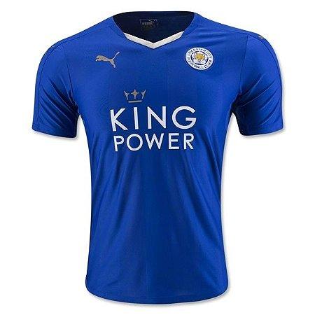 Camisa oficial Puma Leicester City 2015 2016 I jogador