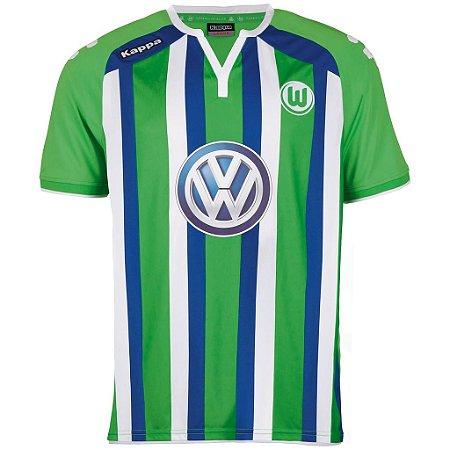 Camisa oficial Kappa Wolfsburg 2015 2016 II jogador