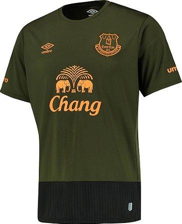 Camisa oficial Umbro Everton 2015 2016 III jogador