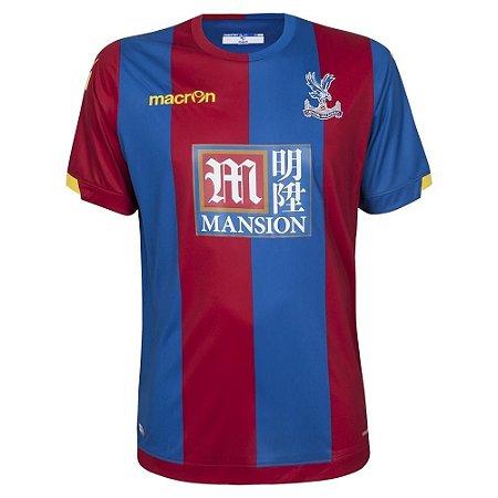 Camisa oficial Macron Crystal Palace 2015 2016 I jogador