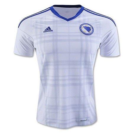 Camisa oficial Adidas  Bosnia e Herzegovina Euro 2016 II jogador