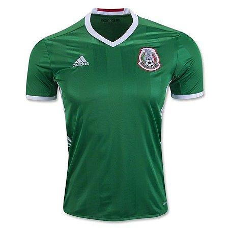 Camisa oficial Adidas seleção do México 2016 I jogador Copa America centenário