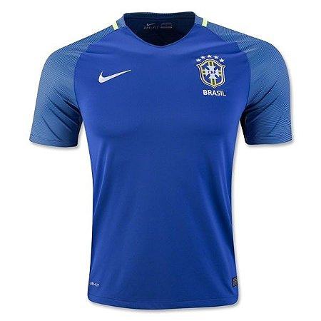 Camisa oficial Nike seleção do Brasil 2016 II jogador