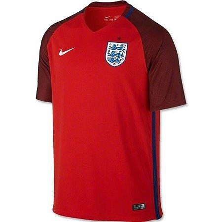 Camisa oficial Nike seleção da Inglaterra Euro 2016 II jogador