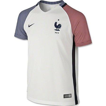 Camisa oficial Nike seleção da França Euro 2016 II jogador