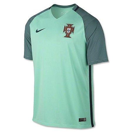 Camisa oficial Nike Seleção de Portugal Euro 2016 II jogador