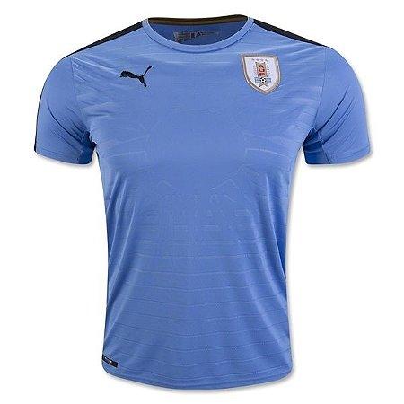 Camisa oficial Puma seleção do Uruguai 2016 I jogador